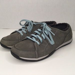 LL Bean suede comfortable shoes.